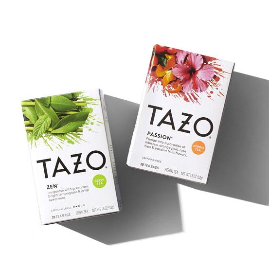 DDW Portfolio TAZO Flavor Burst