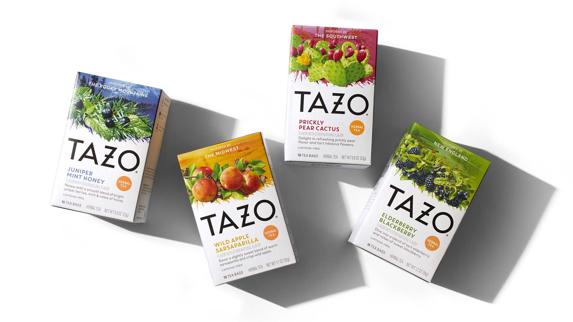 DDW TAZO Flavor Burst