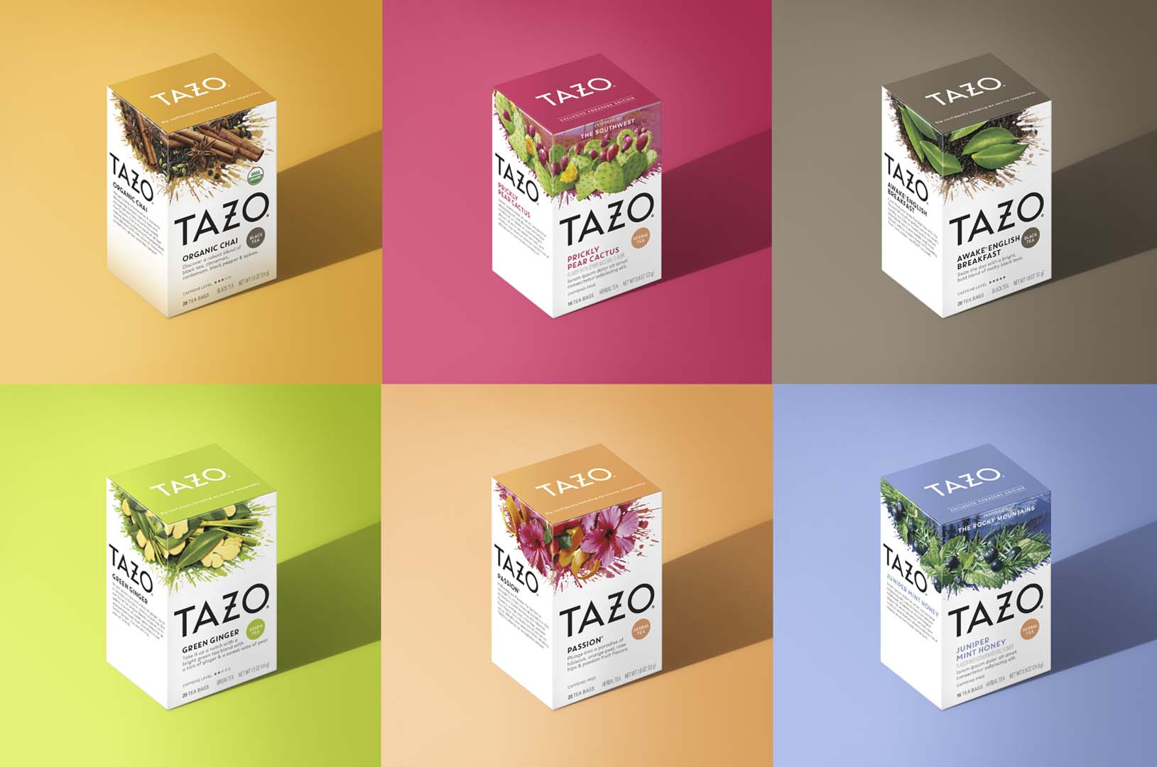 DDW Portfolio Tazo Flavours